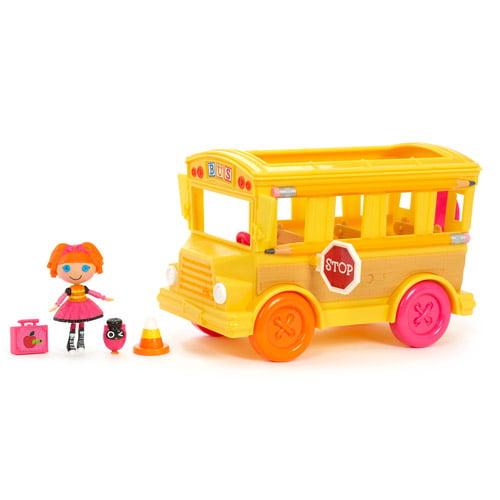 Mini Lalaloopsy Doll, Bea & Bea's School Bus