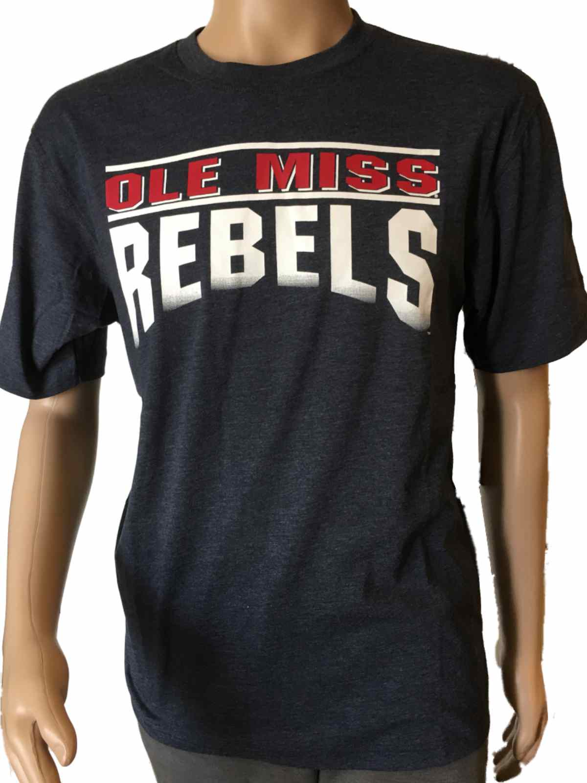 Ole Miss Rebels Colosseum Blue Crunch Frontline Short Sleeve T-Shirt ... f72fc94e6