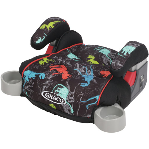 Graco Backless TurboBooster Booster Car Seat, Dinorama
