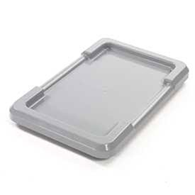 - Gray Lid For Cross Stack And Nest Tote, Lot of 6