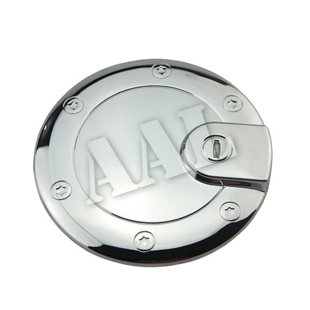 AAL Premium Gas Tank Fuel Door Cap Chrome Cover For 2005 2006 2007 2008 2009 2010 JEEP GRAND CHEROKEE