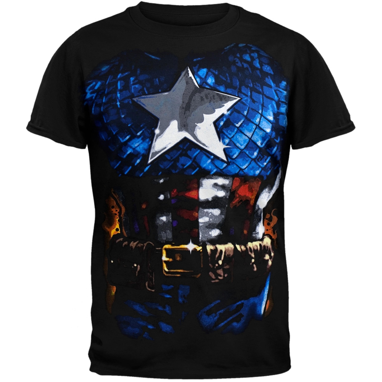 Captain America - Costume T-Shirt