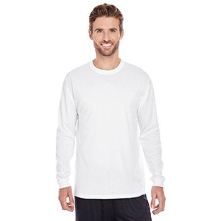 C2 Sport Men's 100% Poly Performance Long-Sleeve T-Shirt