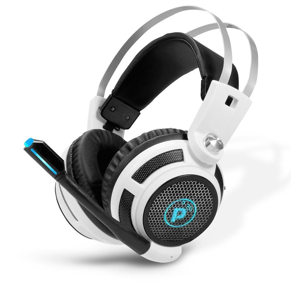 PGPHONE80 - Professional PC Gaming Headset with Mic - USB Headphones and Microphone for Windows Mac Computer Games - 7.1 Virtual Surround Sound Audio, Ship from America
