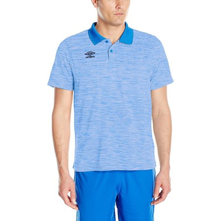 Umbro Men's Heathered Polo Top, Color Options