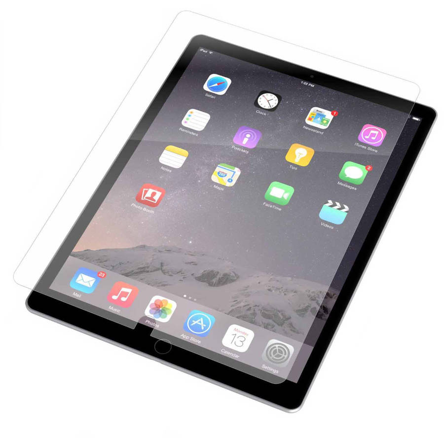 InvisibleShield Glass Screen Protector for Apple iPad, Clear
