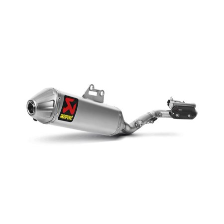 Akrapovic S-S4MR10-BNTA Racing Line Full System Exhaust - Titanium Muffler with Spark Arrestor