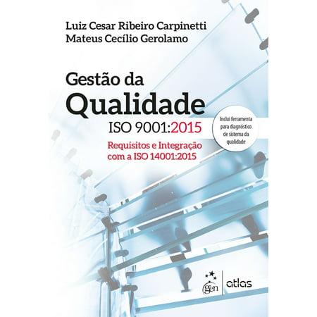 Gestão da Qualidade ISO 9001: 2015 - eBook
