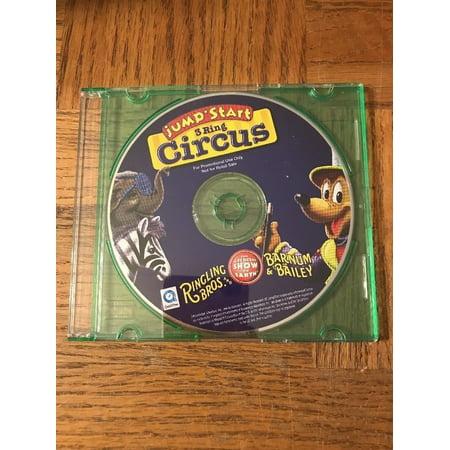 Jumpstart 3 Ring Circus - Circus Ring Leader