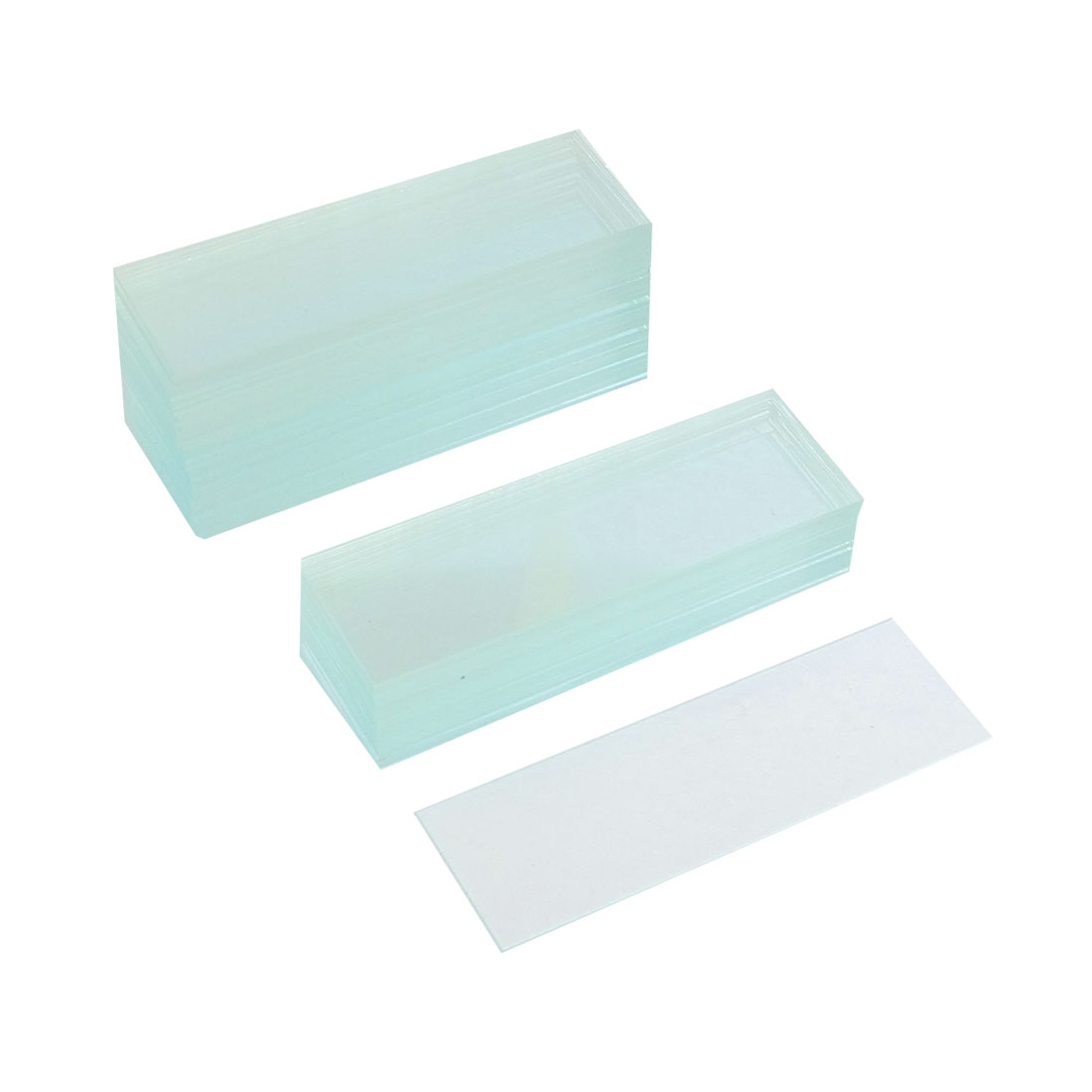 "50 Pcs Pre-cleaned Microscope Blank Glass Slides 1""x3"" - image 1 of 1"