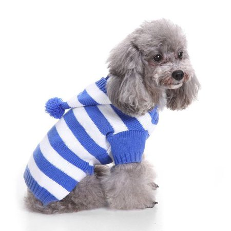 KABOER Christmas Pet Knit Turtleneck Pet Sweater Christmas Dog Clothes Knitted Jumper Sweater For Dogs ()