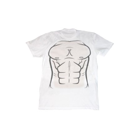 00ae40deb Muscle Chest Illustrated Costume T-Shirt - Walmart.com