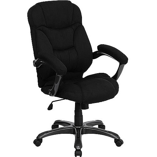 Microfiber High-Back Office Chair, Multiple Colors
