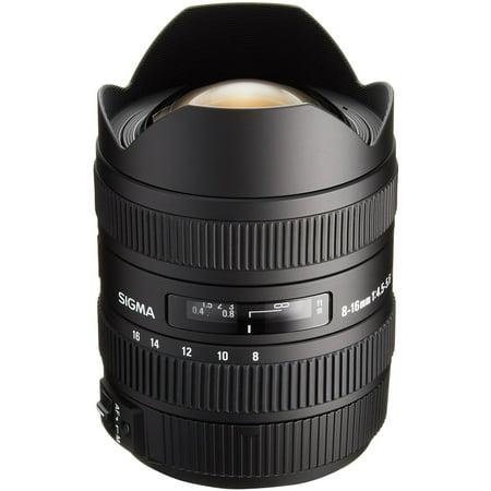 Sigma 8-16mm f/4.5-5.6 DC HSM Ultra-Wide Zoom Lens (for Nikon