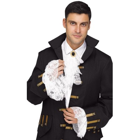 Jabot And Cuffs (Adult's Mens Shakespearean Royal Jabot And Cuff Costume Accessory)