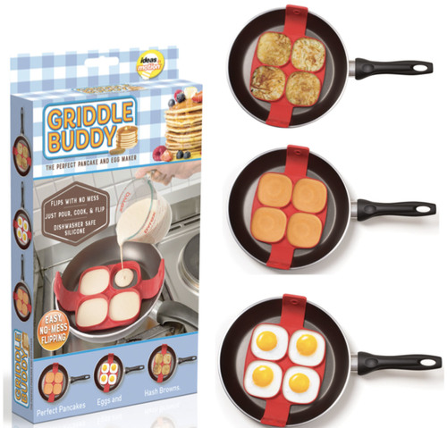 Griddle Buddy- The Perfect Pancake and Egg Maker by 9591