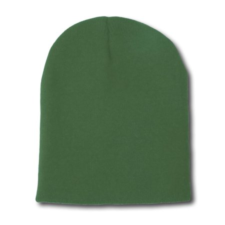Blank Short Beanie Cap- Many Colors Available (Yellow Graduation Cap)