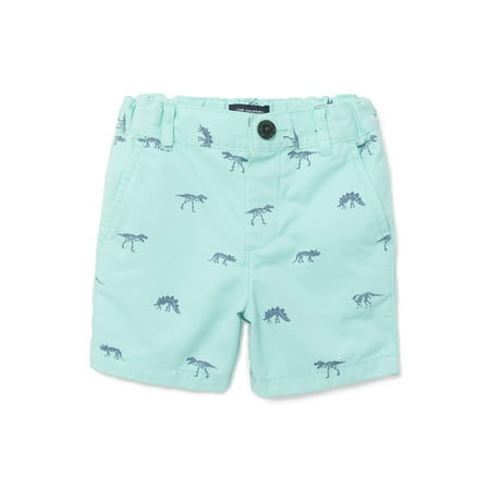 The Children's Place Printed Flat Front Chino Shorts (Baby Boys & Toddler Boys)