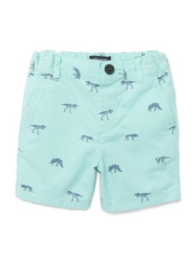 1e2181eb98 Product Image The Children's Place Printed Flat Front Chino Shorts (Baby  Boys & Toddler ...