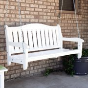 Prairie Leisure 4 ft. Aspen Humpback Garden Porch Swing