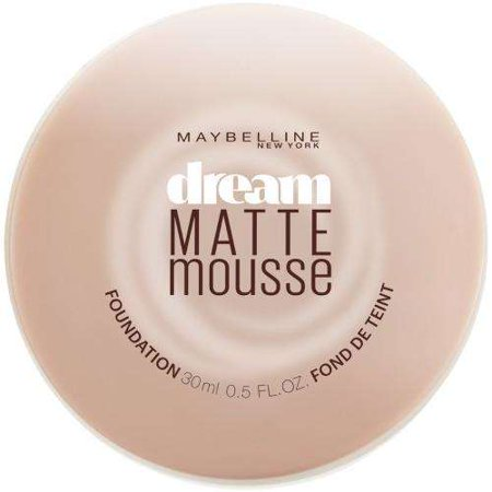 Mica Matte Foundation - Maybelline New York Dream Matte Mousse Foundation, Classic Ivory