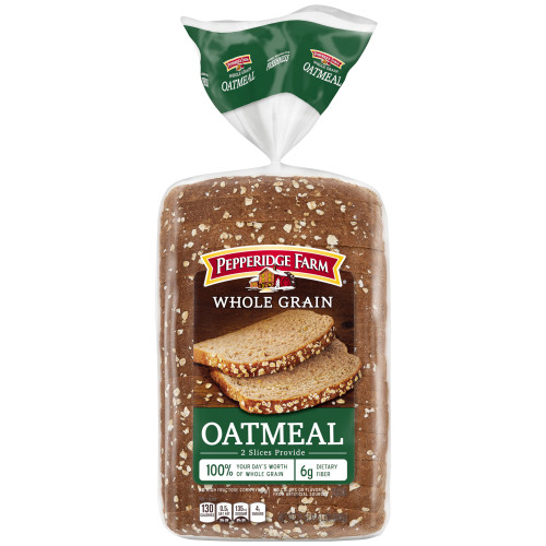 Pepperidge Farm Whole Grain Oatmeal Bread, 24 oz. Bag