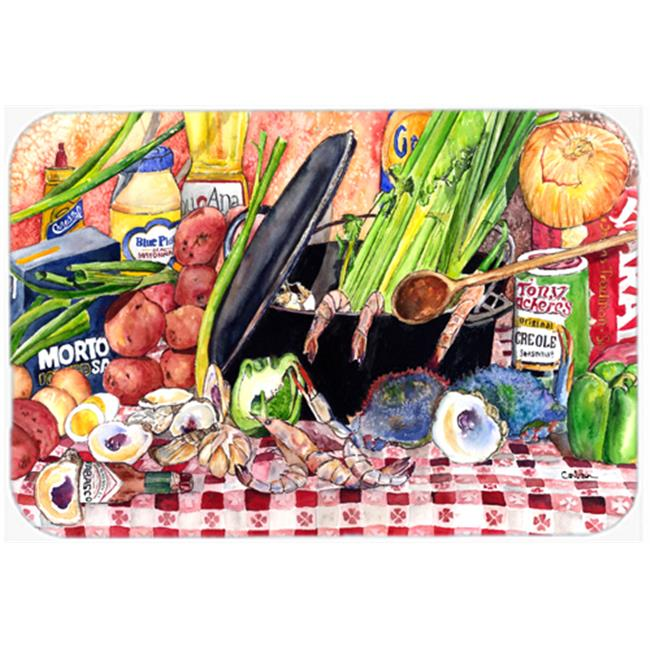 9.5 x 8 in. Gumbo and Potato Salad Mouse Pad