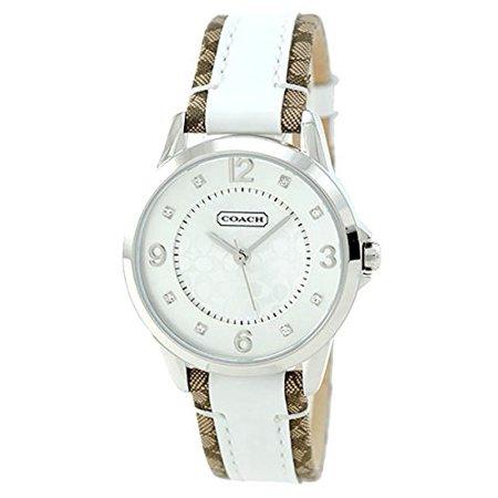 Coach Ladies CLASI Analog Dress Quartz Watch (Imported) 14501619 - Imported Dresses
