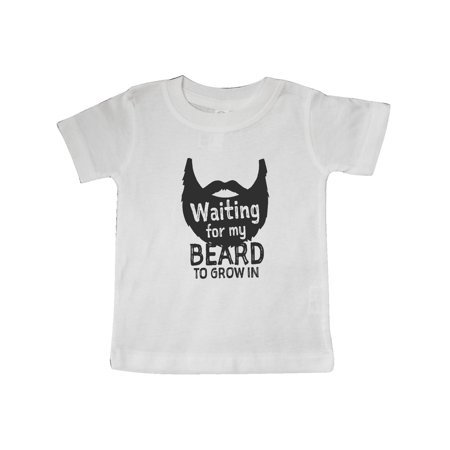 Waiting For My Beard To Grow In Baby T-Shirt