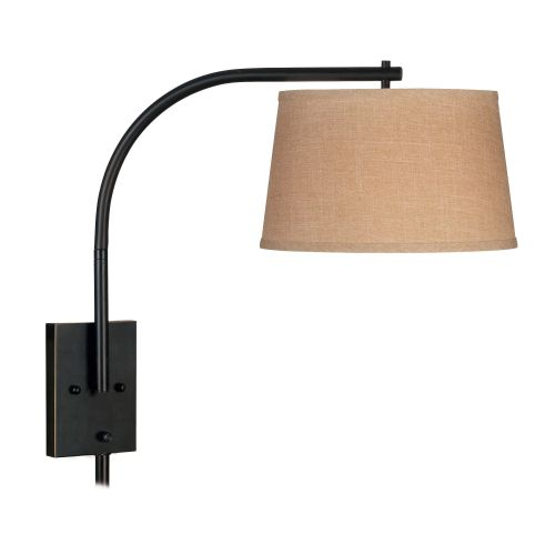 Kenroy Home Sweep Wall Swing Arm Lamp, Oil Rubbed Bronze by Kenroy Home