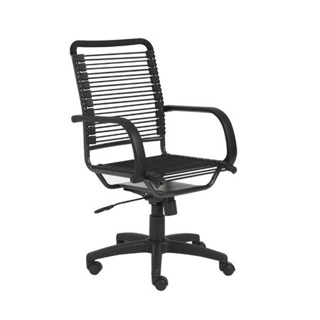 Brika Home High Back Office Chair in Black - image 4 de 4