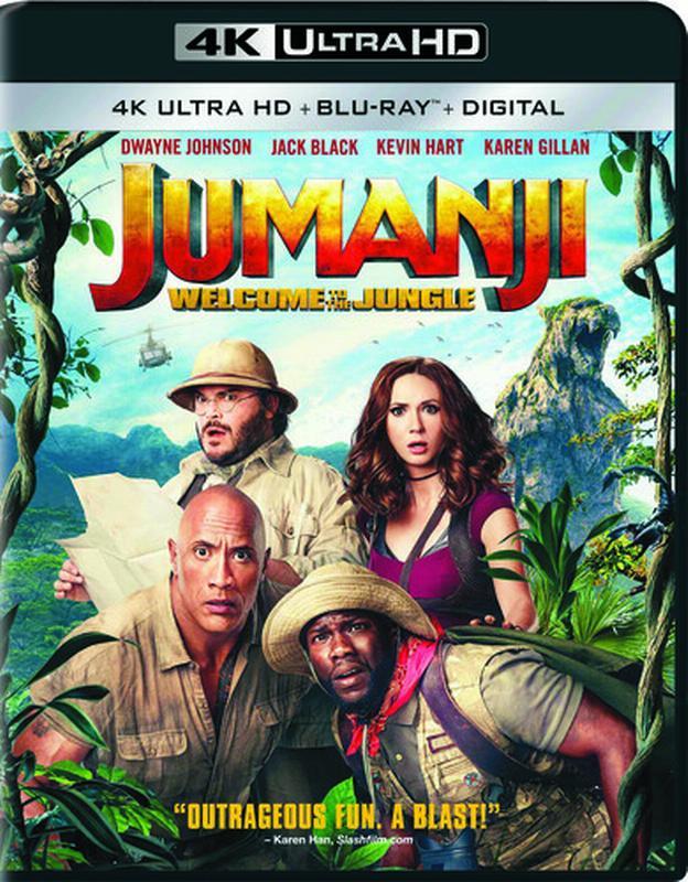 Jumanji: Welcome to the Jungle (4K Ultra HD + Blu-ray + Digital) by
