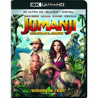Jumanji: Welcome to the Jungle (4K Ultra HD + Blu-ray + Digital)