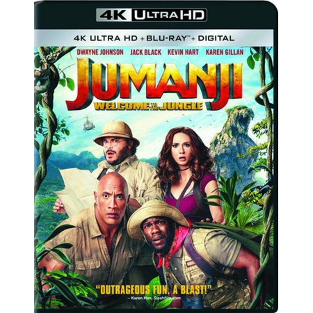 Jumanji: Welcome to the Jungle (4K Ultra HD + Blu-ray +