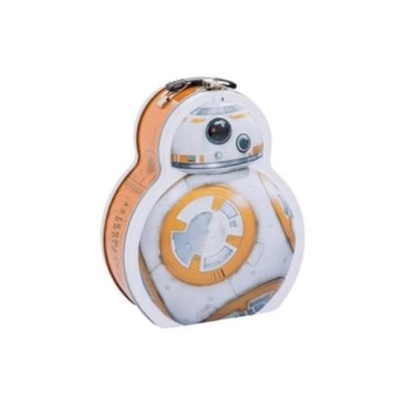 Star Wars Bb-8 Shaped Tin Tote ()](Star Wars Tote)
