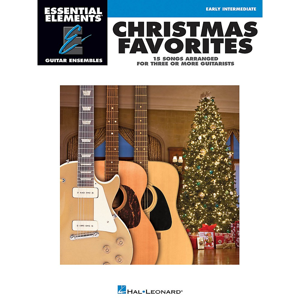 Hal Leonard Christmas Favorites Essential Elements Guitar Series Softcover