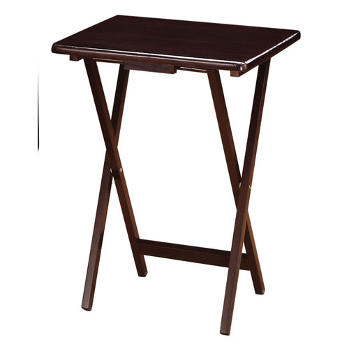 Wildon Home 5 Piece Tray Table Set by Windward Furniture