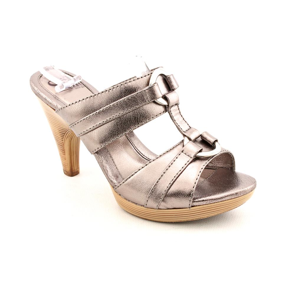 Sofft Calvados Women Open Toe Leather Slides Sandal by Sofft