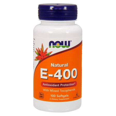 Vitamin E-400 With Mixed Tocopherols Now Foods 100