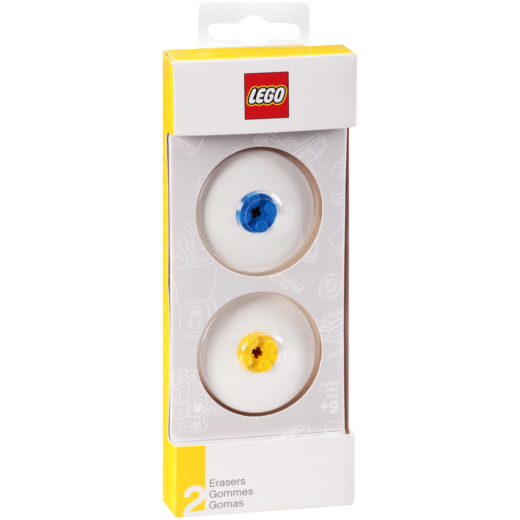 Lego Erasers 2 ct Pack by SANTOKI, LLC