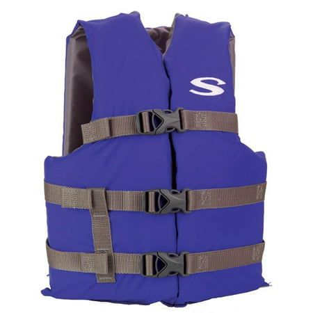 Stearns Adult Classic Series Life Jacket, Blue, Adult (Best Life Jacket For Canoeing)