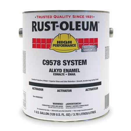 Coal Tar Epoxy (Rust-Oleum C9502402 1 gal. Coal Tar Epoxy Activator )