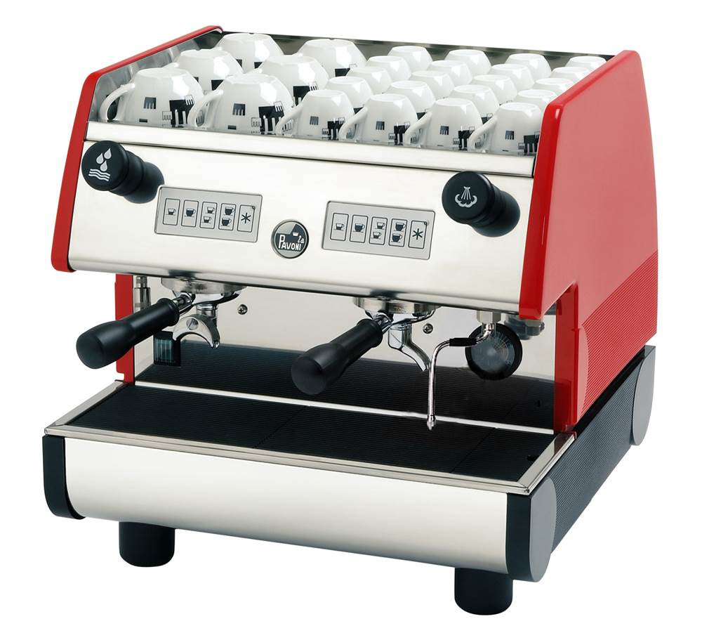2 Group Volumetric Electronic Espresso Machine by Forzano Italian Imports Inc