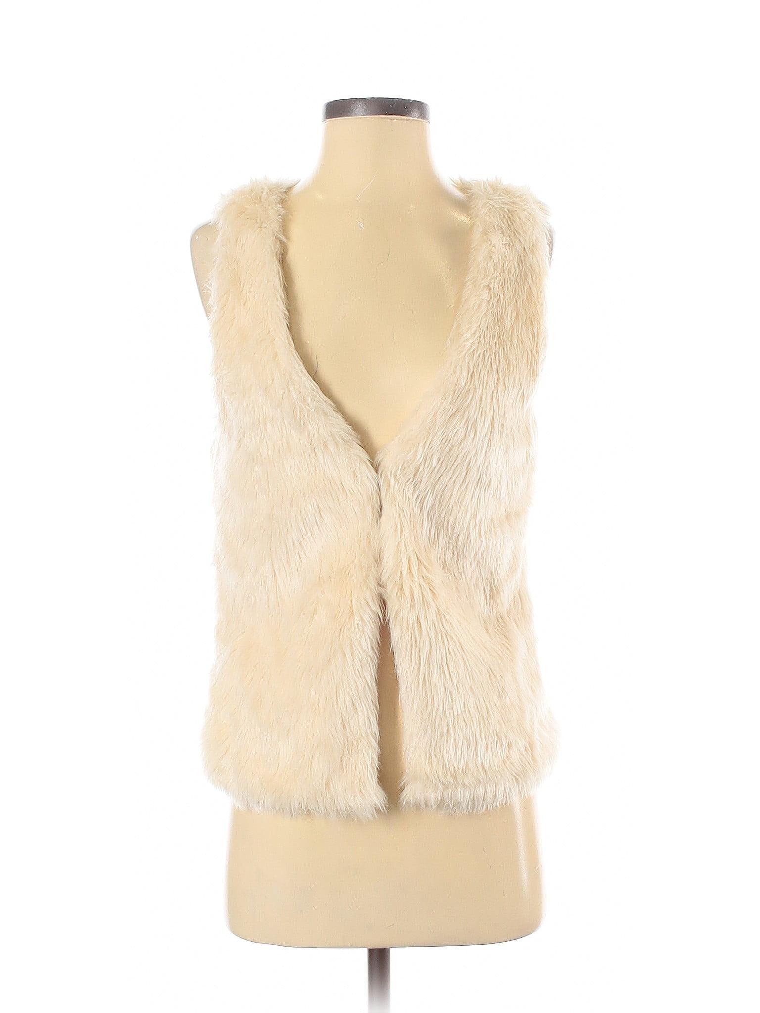 Love Tree - Pre-Owned Love Tree Women's Size S Faux Fur Vest ...