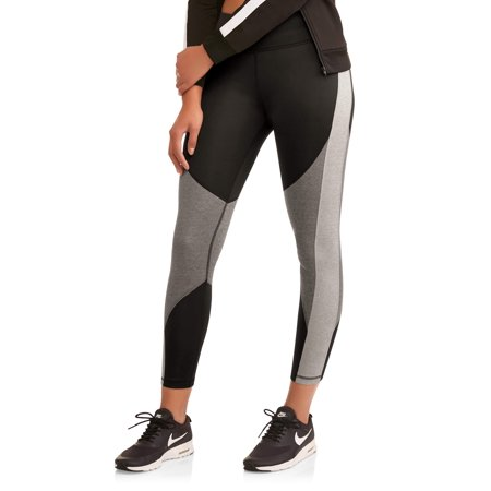 Women's Active Heathered Colorblock Performance Leggings