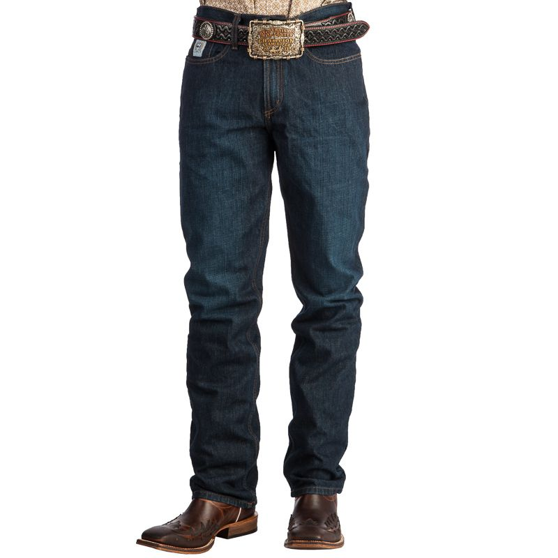 MB98034002 IND/_T Big and Tall Cinch Silver Label Dark Wash Jeans