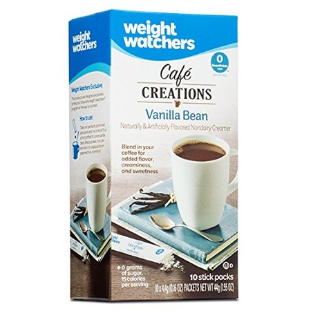 Weight Watchers Cafe Creations Vanilla Bean  10 Count  0 16 Oz
