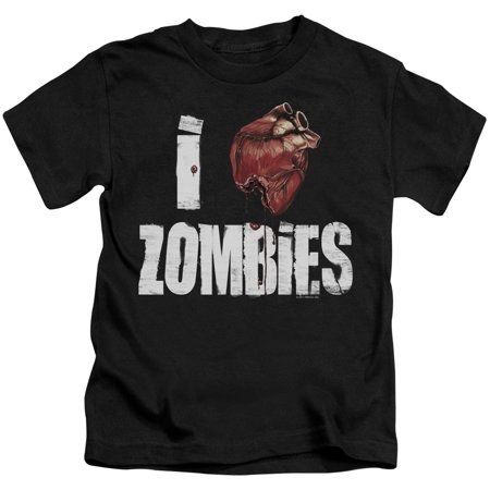 I Bloody Heart Zombies Little Boys Juvy Shirt](Little Boy Zombie)