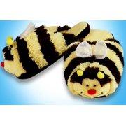 My Pillow Pets Bumblebee Slippers Medium