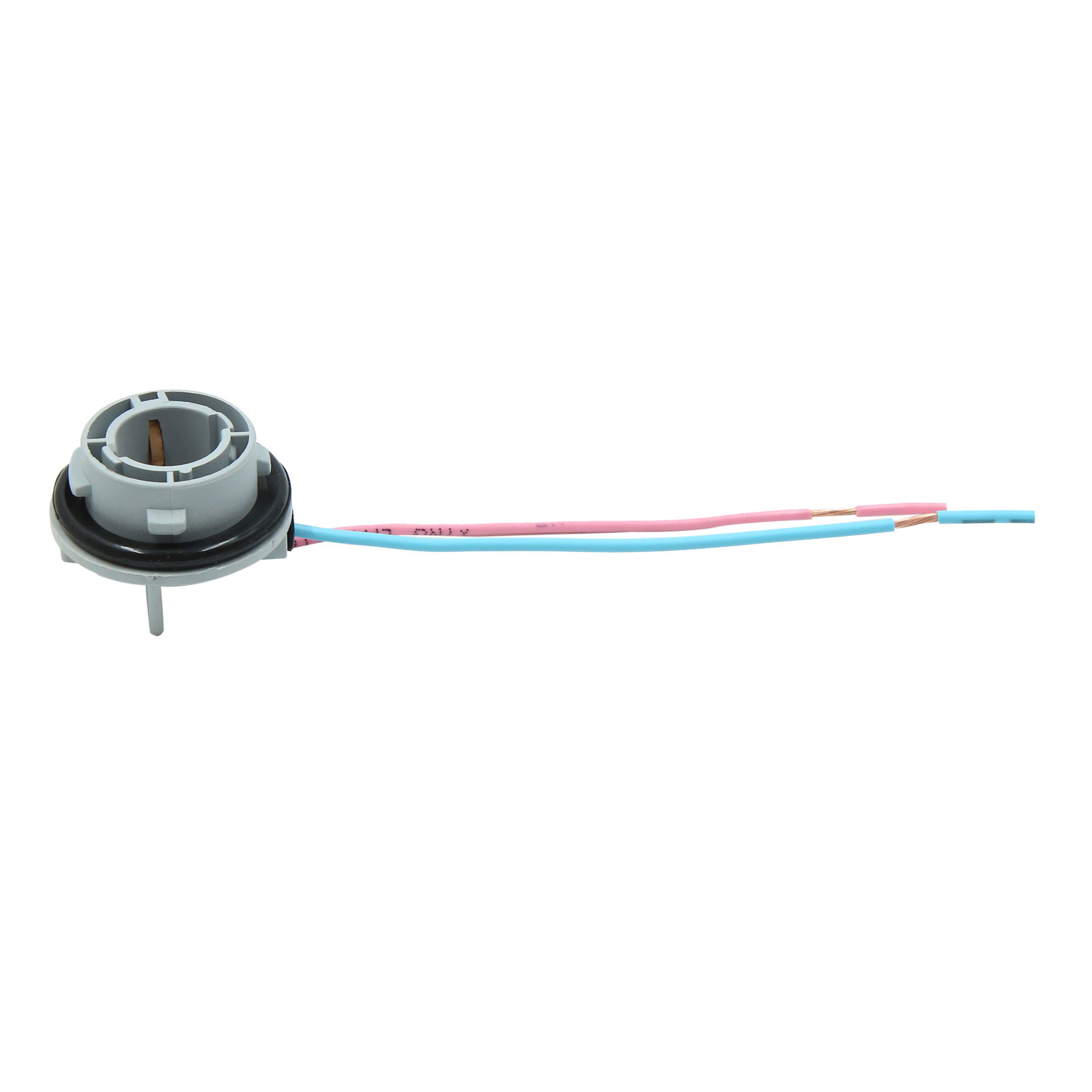 2pcs DC 12V Turn Signal Light Lamp Socket Plug Connector Wiring Harness for Car - image 1 de 5